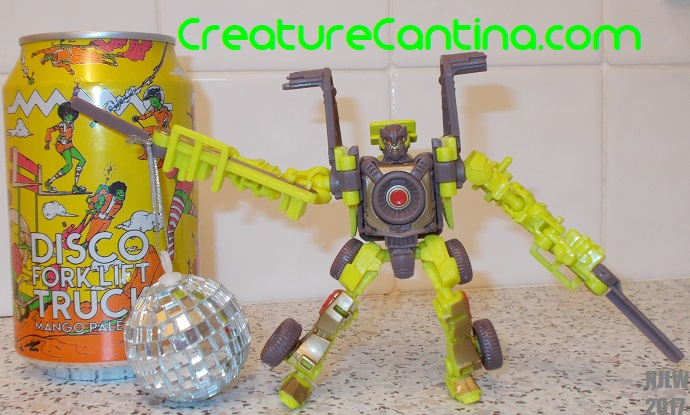 AF&TB Disco Forklift Truck & Dirt Boss with a Disco ball